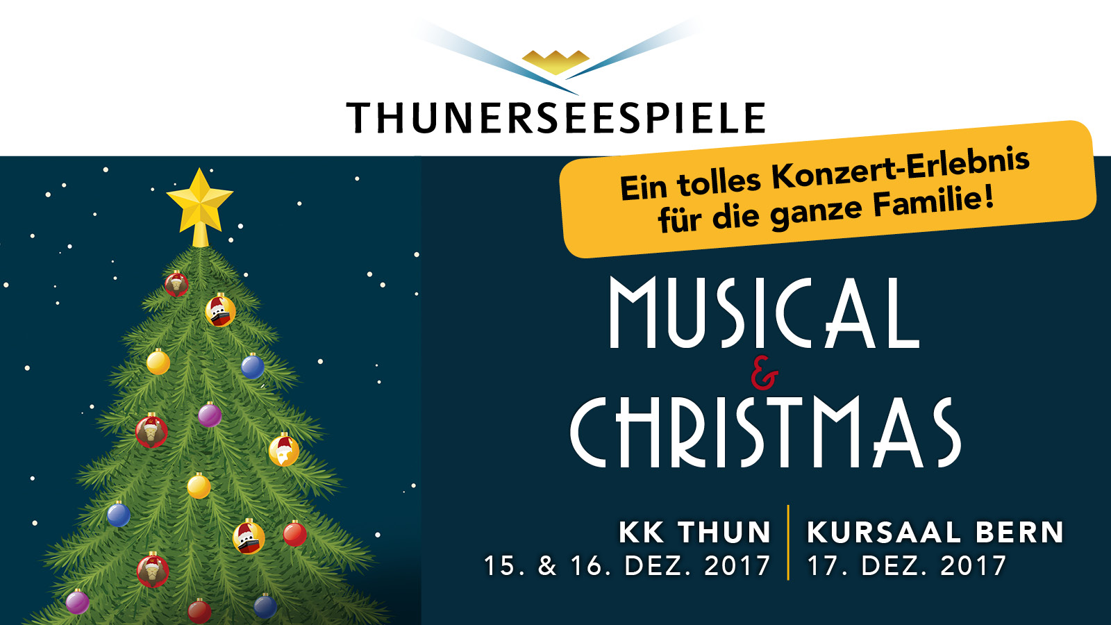 Thunerseespiele: Musical & Christmas 2017